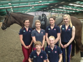 English Vaulting Squad Senior Team